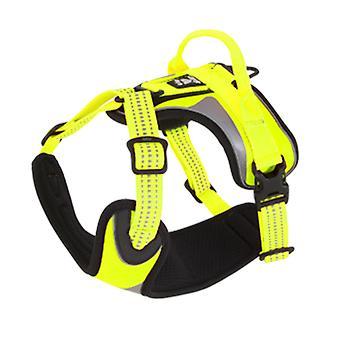 Hurtta valjaat häikäistä keltainen (koirat, kaulus kaulanauha, johtaa ja valjaat, valjaat)