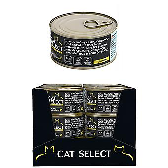 Pet select Cat Select Tartar De Atun Y Pescado Blanco 95Gr (Cats , Cat Food , Wet Food)