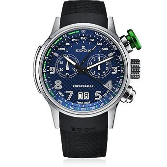 Edox 38001 TINV BUV3 Chronorally Heren Horloge