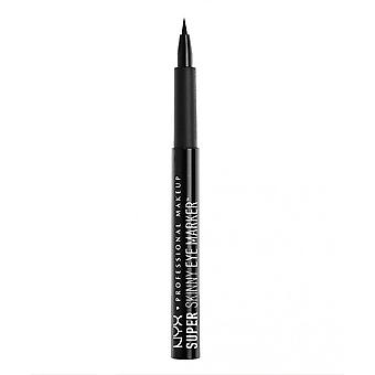 NYX Super Skinny Eye Marker - 01 Carbon Black