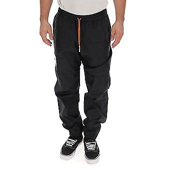 Heron Preston Hmca016f196160041088 Men's Black Nylon Pants