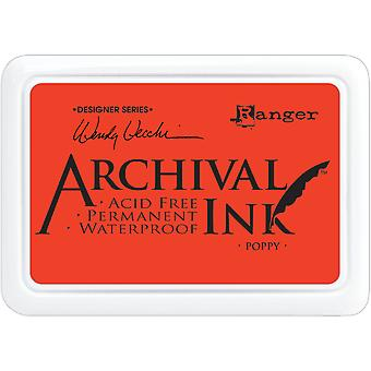 Wendy Vecchi Archive Ink Pad - Coquelicot