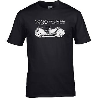 Morris Minor Bullet British Classic - Car Motor - DTG Printed T-Shirt