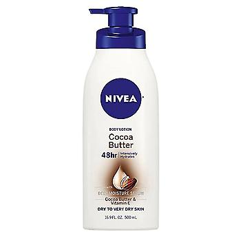 Nivea cocoa butter body lotion, hydra iq, dry to very dry skin, 16.9 oz