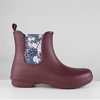 Crocs 204630 Freesail Chelsea Ladies Boots Garnet