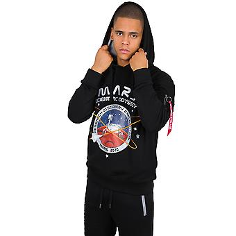 Alpha Industries Men's Hooded Sweater Mission To Mars