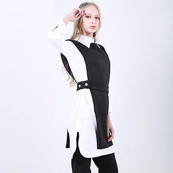 Sleeveless Tunic High Waist Irregular Long Vest