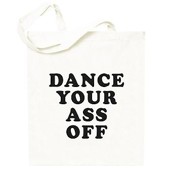 Footloose Dance Your Ass Off Totebag