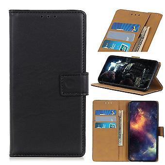 Samsung Galaxy A41 Wallet Case - Black