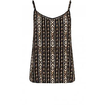 b.young Striped Patterned Vest Top