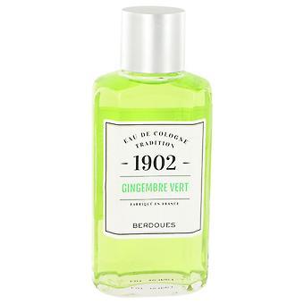 1902 Gingembre Vert Eau De Cologne jäseneltä Berdoues 8.3 oz Eau De Cologne