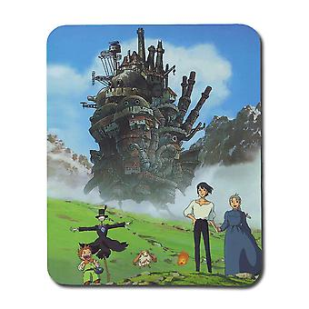 Anime Uílso MoveNdo MousePad do Castelo