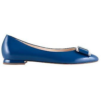 Hogl harmonie blauwe ballerinas womens blauw