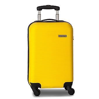 Fabrizio Worldpack Swift Handbagage Trolley S, 4 Wielen, 55 cm, 31 L, Geel