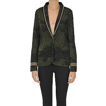 Mason's Ezgl303028 Women's Green Viscose Blazer