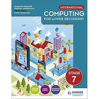 International Computing for Lower Secondary Students Book S by Siobhan Matthewson