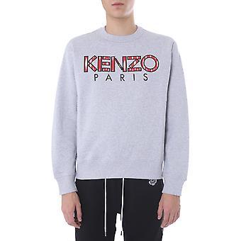 Kenzo Fa55sw0004md94 Men's Grey Cotton Sweatshirt