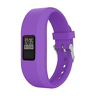 for Garmin Vivofit 4 Strap Band Replacement Classic Buckle Wristband Bracelet[Purple,Does Not Apply]