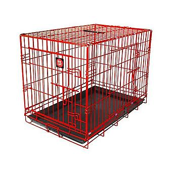 James & Steel Double Door Dog Crate