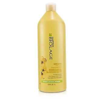 Biolage glatt beweissichere Aqua Gel Conditioner (für feines, prickelndes Haar) 233483 1000ml/33.8oz