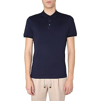 Brunello Cucinelli M0t618303c6134 Men'camisa polo de algodão azul