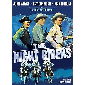 The Night Riders [DVD] USA import