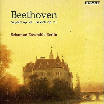 L.V. Beethoven - Beethoven: Septett Op. 20; Sextett Op. 71 [SACD] USA import