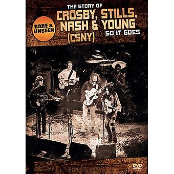 Crosby Stills Nash & Young-So It Goes [DVD] USA import