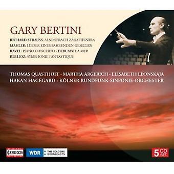 Debussy/Ravel/Berlioz/Mahler/Strauss, R. - Gary Bertini Conducts Strauss, Mahler, Ravel, Debussy, Berlioz [CD] USA import