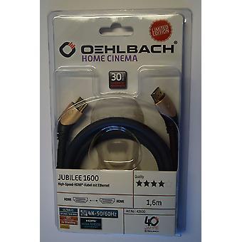 Oehlbach Jubilee 1600 4K 3D HDMI Kabel 1 stuk