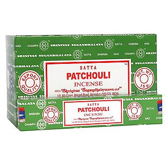 Something Different Satya Patchouli Incense Sticks (Box Of 12 Packs)