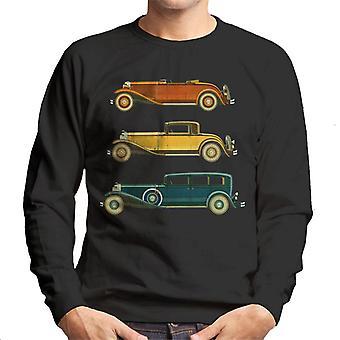 Lørdag aften Post Classic Biler Men's Sweatshirt