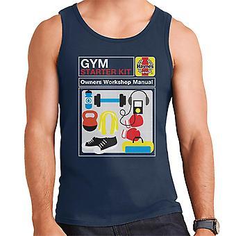 Haynes Gym Starter Kit Workshop Manual Men's Vest