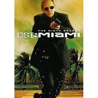 CSI Miami - CSI: Importación Miami-los E.e.u.u. de la Novena temporada [DVD]