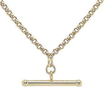 9ct Yellow Gold Ketting ketting voor dames maat 18