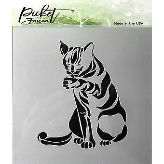 Picket Fence Studios Cat Stencil