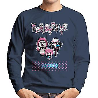 Aggretsuko Gori Washimi Retsuko Office Attire Men's Sudadera