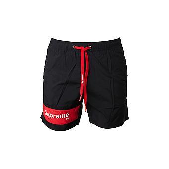 Men's Supreme Grip Black Swim Shorts