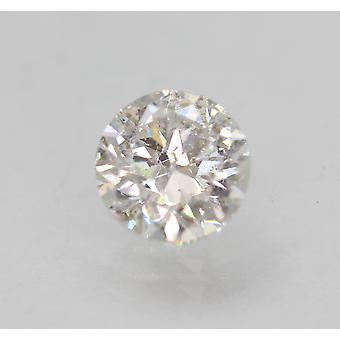 معتمد 0.90 قيراط E SI1 جولة رائعة المحسنة الطبيعية فضفاضة الماس 5.98mm