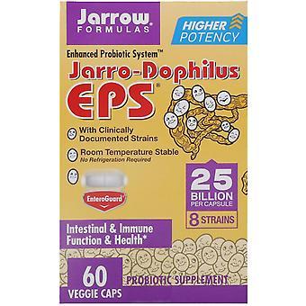 Formules Jarrow, Jarro-Dophilus EPS, 25 milliards, 60 Bonnets végétariens