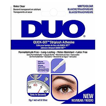 DUO Quick Set Professional Strip False Lashes Adhesive - 5g White / Clear