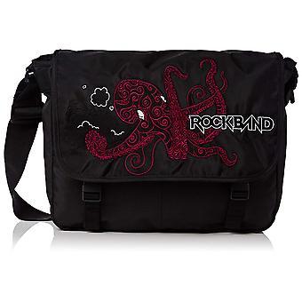 Messenger Bag - Rockband - Octopus Black New 166056