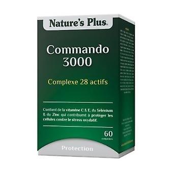 Commando 3000 60 tabletter