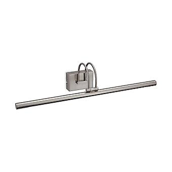 LED  Picture Wall Light Brushed Steel