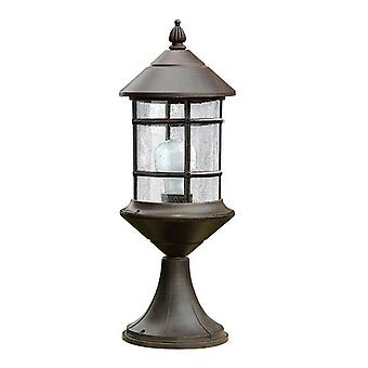1 lámpara exterior Light Rusty Brown