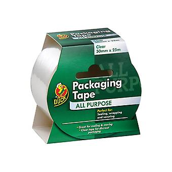 Shurtape Duck Tape® Packaging Tape 50mm x 25m Clear 224499