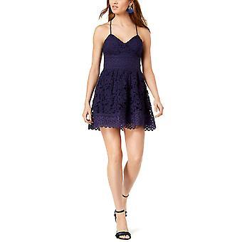 J.O.A. | Lace Fit & Flare Dress