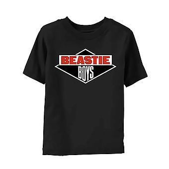 Beastie Boys Toddler T Shirt Diamond Logo new Official Black 3 to 18 Months