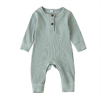 New Baby Romper-solid Color Jumpsuit Clothes