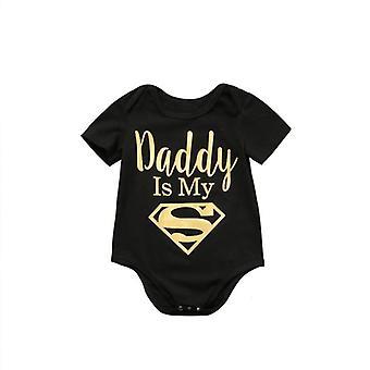 Αγόρια / Ρούχα, ο μπαμπάς είναι ήρωας μου εκτύπωση jumpsuit